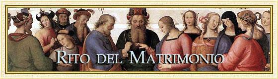 Rito Matrimonio Romano Antico : Rito del matrimonio rituale romano maranatha